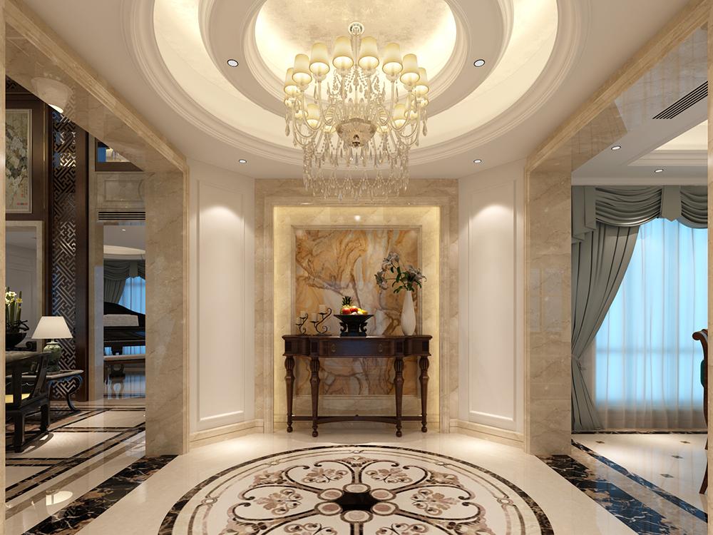 白金瀚宫 别墅装修 新古典欧式 腾龙设计 玄关图片来自孔继民在白金瀚宫 别墅欧式古典风格的分享
