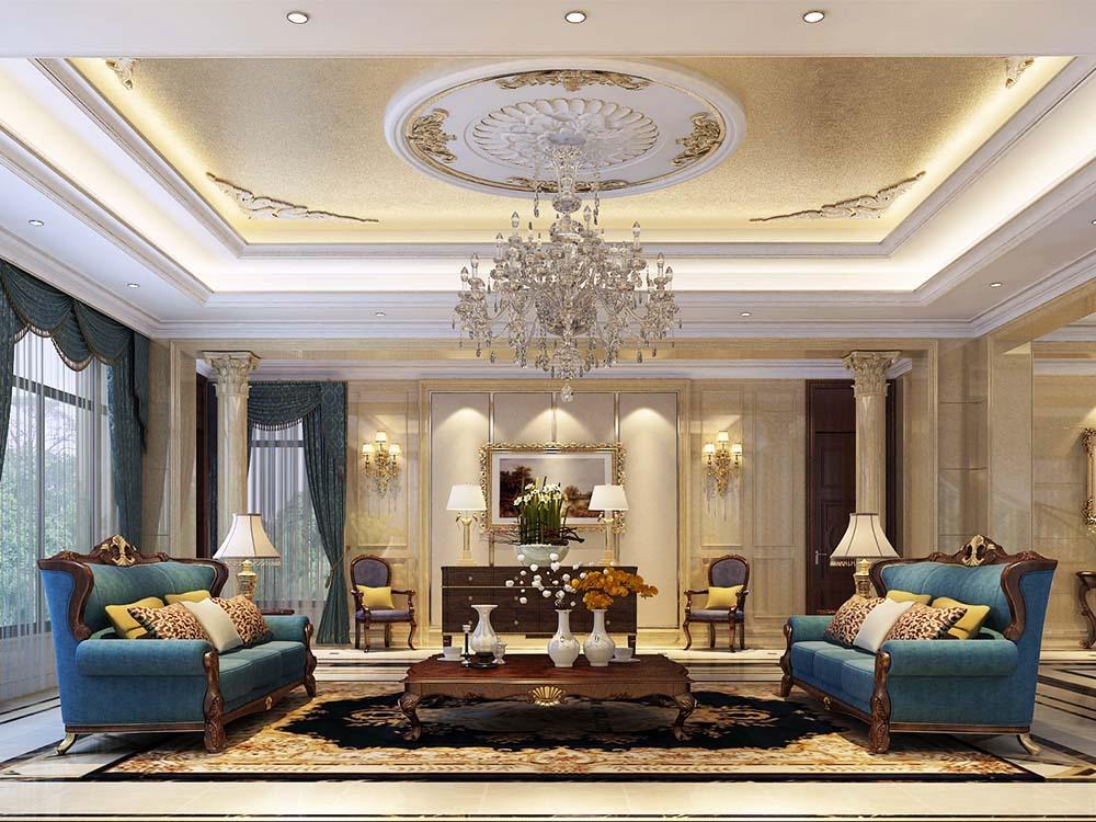 爱法奥朗庄 别墅装修 欧式古典 腾龙设计 客厅图片来自孔继民在爱法奥朗庄园别墅项目装修设计的分享