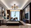 长提花园别墅项目装修现代中式风格设计,上海腾龙别墅设计作品,欢迎品鉴