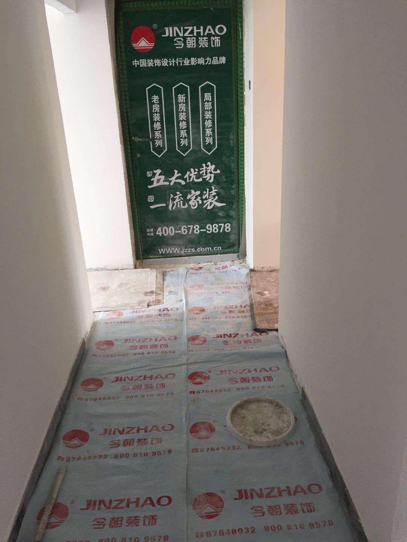 旧房改造 玄关图片来自北京今朝装饰在丰台区和义东里二区的分享
