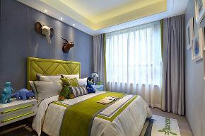 现代 简约 三居 大户型 复式 跃层 白领 80后 小资 儿童房图片来自高度国际姚吉智在133平米现代简约家与生活本身的分享