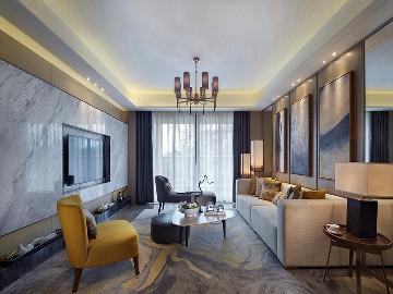 133平米现代简约家与生活本身