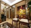 鹭湖宫中式风格客厅