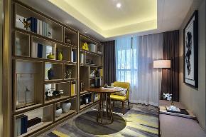 现代 简约 三居 大户型 复式 跃层 白领 80后 小资 书房图片来自高度国际姚吉智在133平米现代简约家与生活本身的分享