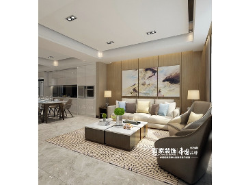 金地铂悦430平别墅现代简约