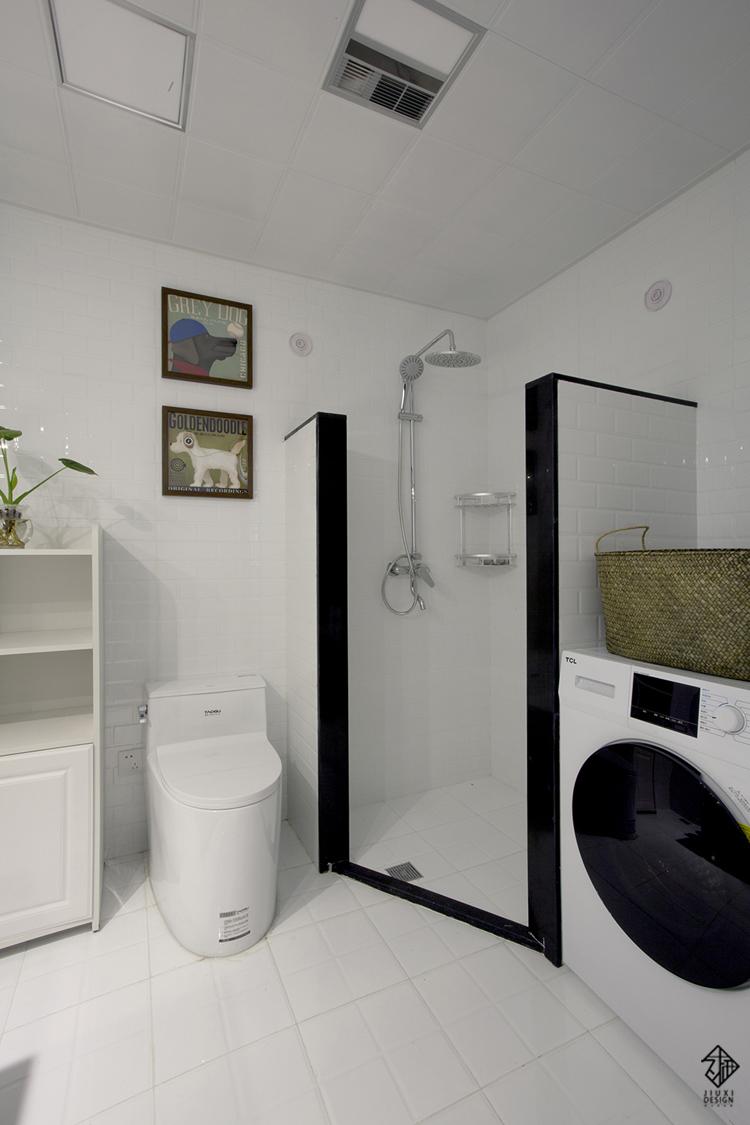 别墅 久栖设计 收纳 混搭 美式 卫生间图片来自久栖设计在【久栖设计】北京天恒乐墅(上)的分享