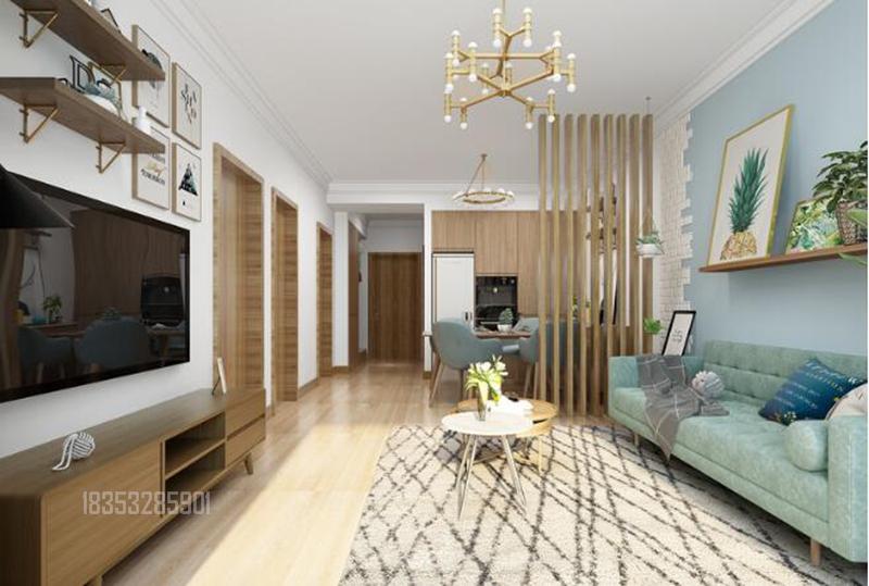 海右重华 93平装修 青岛装修 客厅图片来自实创装饰集团青岛公司在海右重华93平装修设计现代的分享