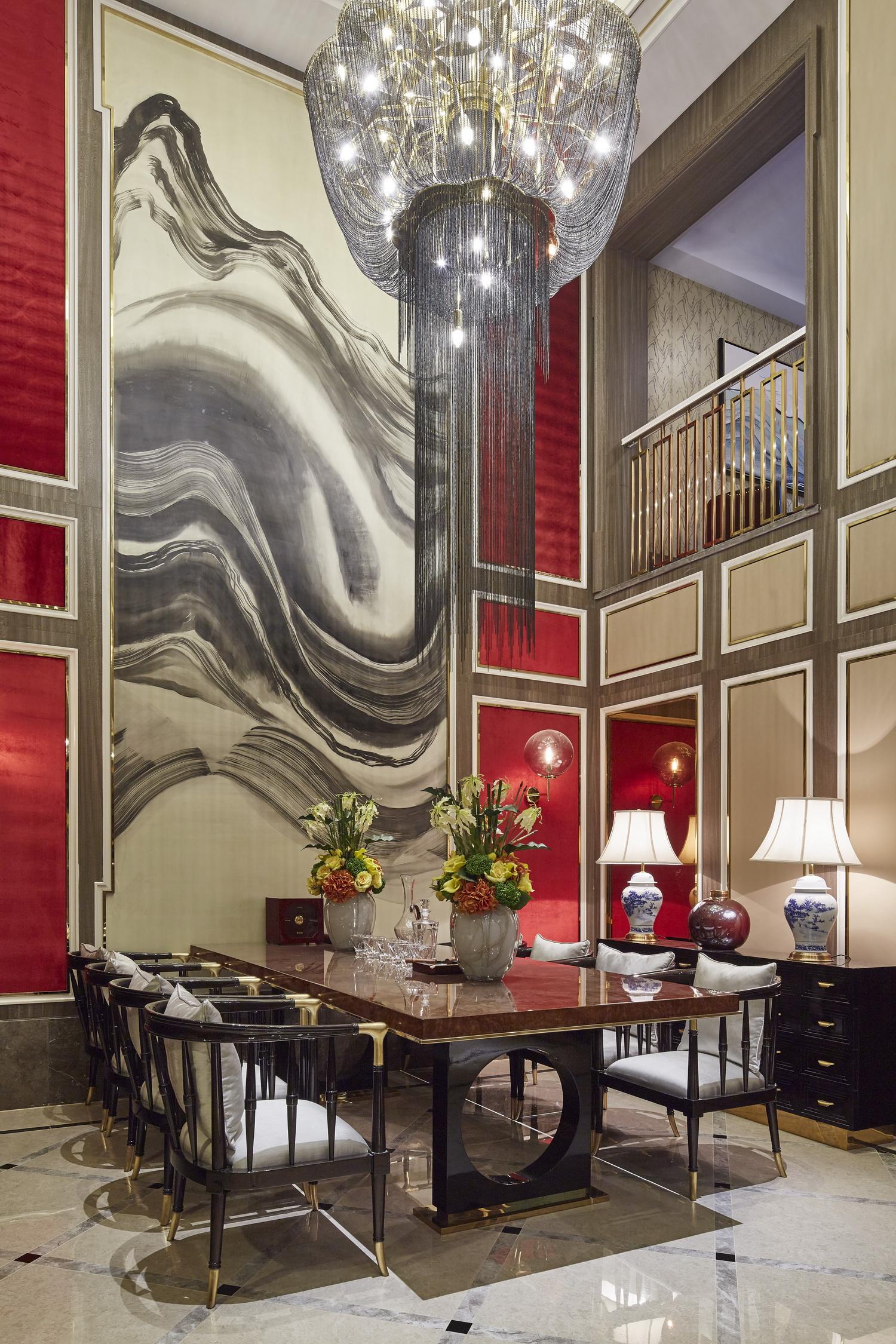 中式 别墅 跃层 复式 大户型 80后 小资 其他图片来自高度国际姚吉智在400平米新中式诗意居所的分享