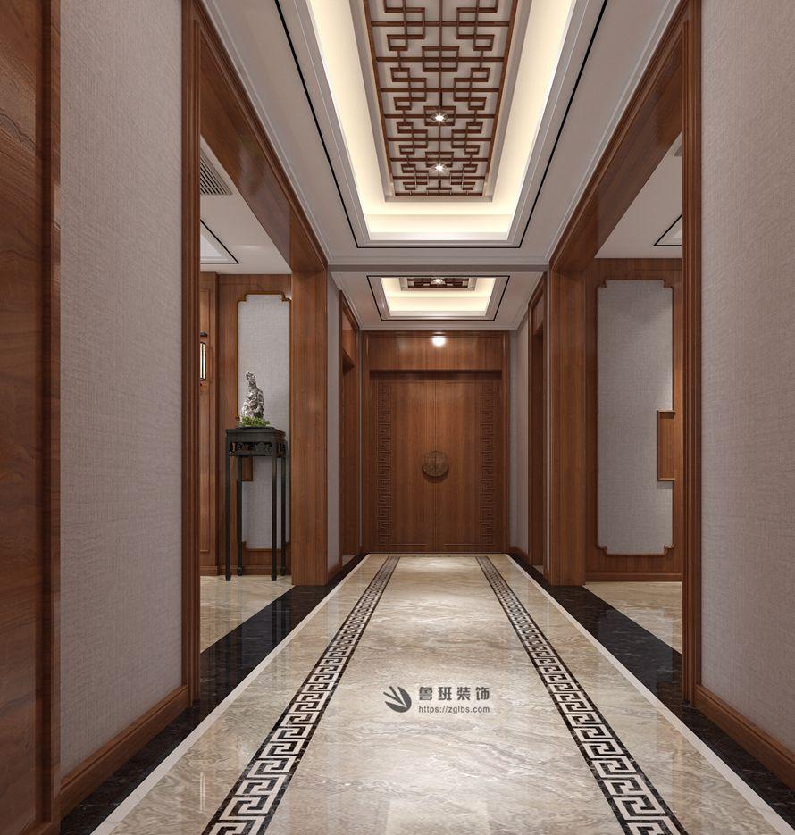 中式 鲁班装饰 国金华府 中式装修 西安装修 其他图片来自西安鲁班装饰装修在国金华府215平米现代中式装修的分享