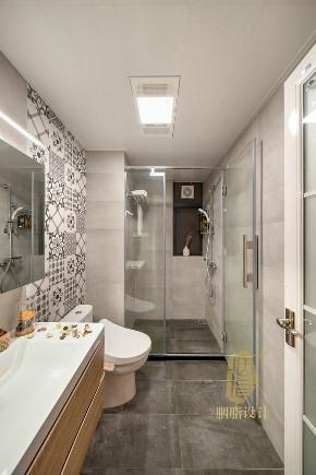 三居 北欧 收纳 旧房改造 胭脂设计 卫生间图片来自设计师胭脂在天空之城的分享