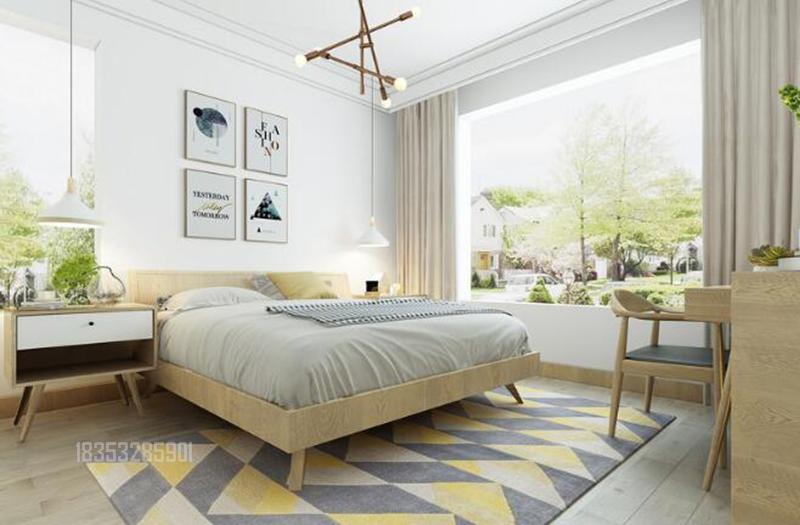 绿城玫瑰园 青岛装修 136平装修 卧室图片来自实创装饰集团青岛公司在绿城玫瑰园136平装修婚房的分享