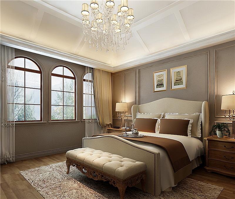 湖山在望 别墅装修 新中式 腾龙设计 卧室图片来自孔继民在湖山在望花园别墅新中式风格的分享