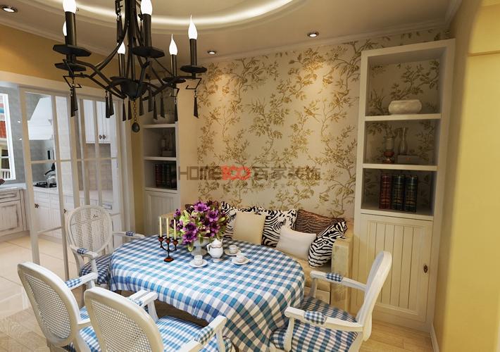 三居 中海城 餐厅图片来自百家装饰LL在中海城的分享