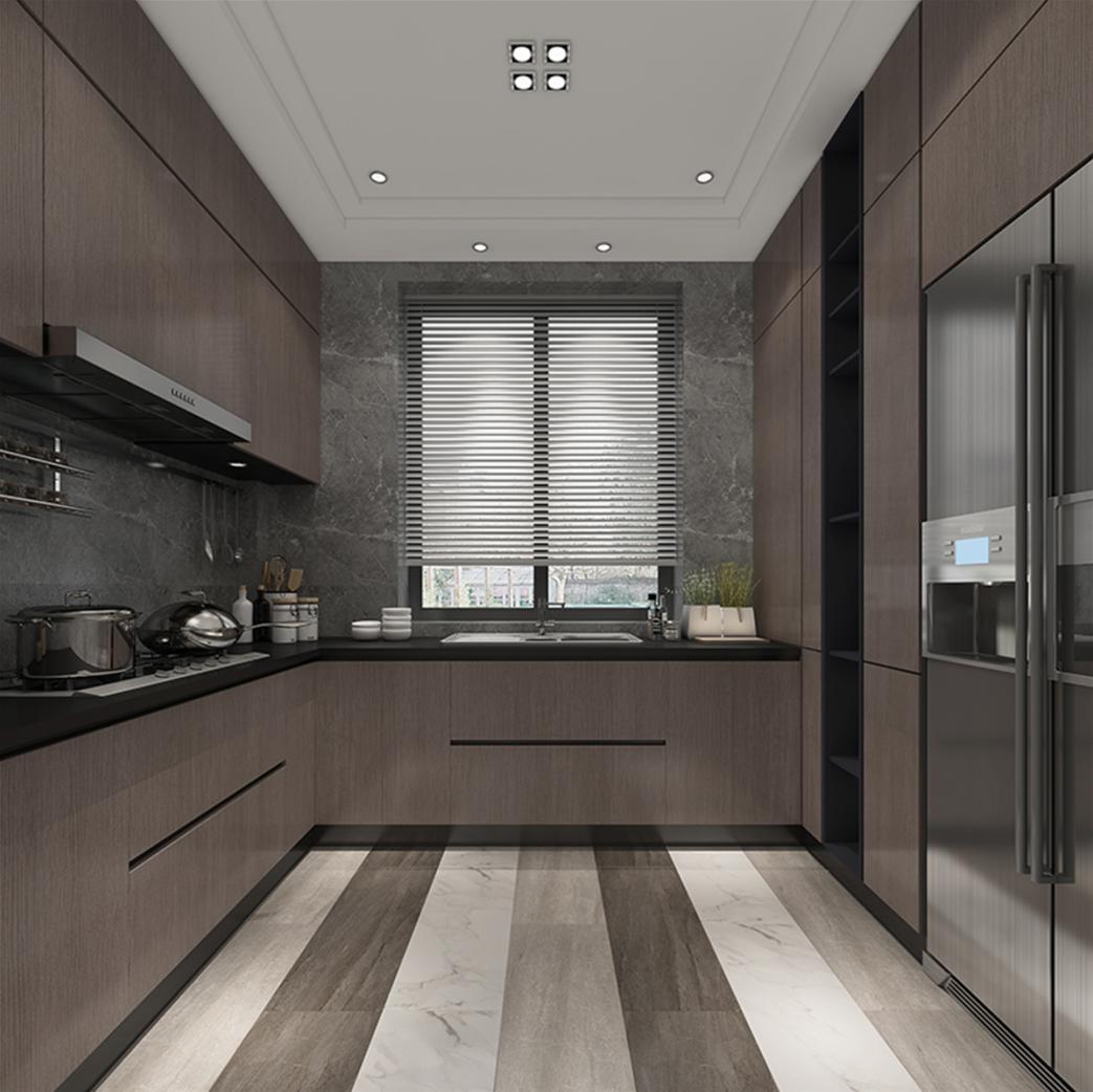 汤臣高尔夫 别墅装修 新中式风格 腾龙设计 厨房图片来自孔继民在汤臣高尔夫别墅装修新古典设计的分享