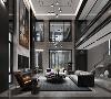 汤臣高尔夫别墅项目装修新中式风格设计,上海腾龙别墅设计作品,欢迎品鉴
