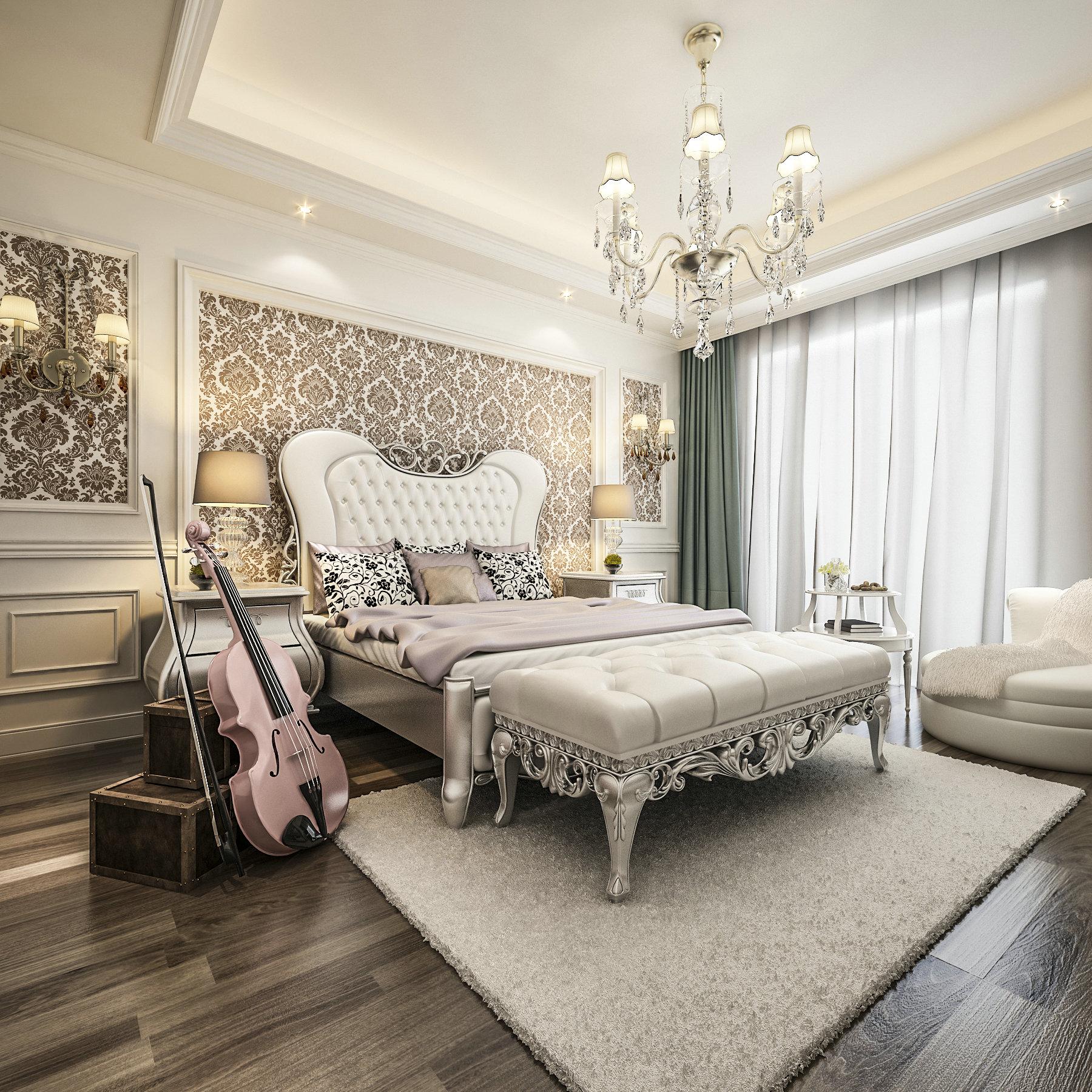 浅水湾花园 别墅装修 欧式古典 腾龙设计 卧室图片来自孔继民在浅水湾花园 别墅新古典欧式设计的分享