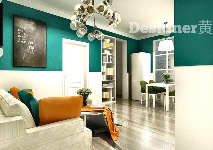 小户型 万锦紫园 客厅图片来自百家装饰LL在万锦紫园的分享