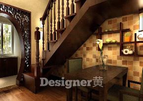 中式 瑞士风情小 楼梯图片来自百家装饰LL在瑞士风情小镇的分享