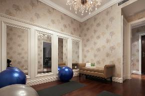 美式 复式 跃层 大户型 别墅 80后 小资 其他图片来自高度国际姚吉智在280平米美式轻奢格调复式楼的分享