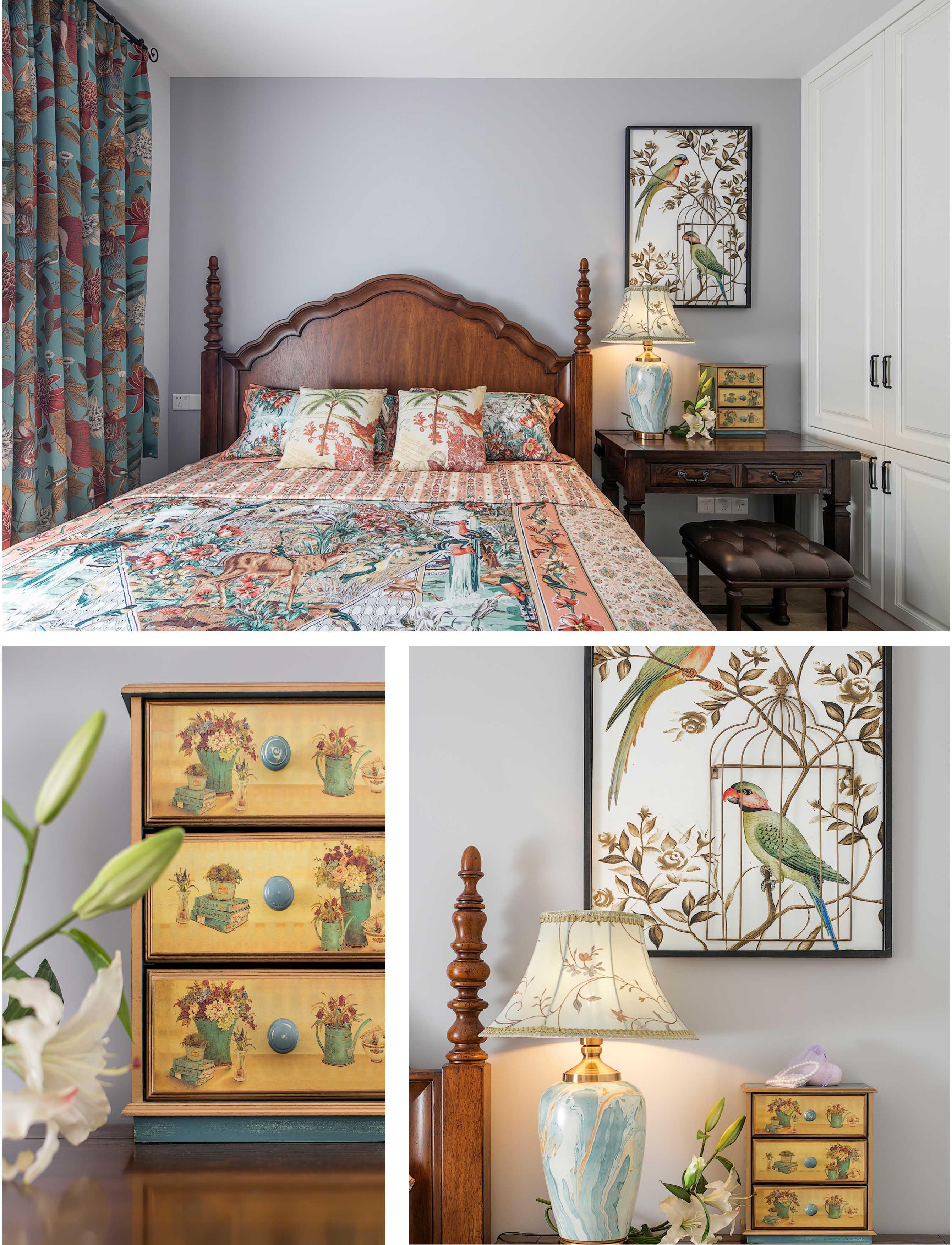 欧式 小资 卧室图片来自盒子设计在独奏的分享