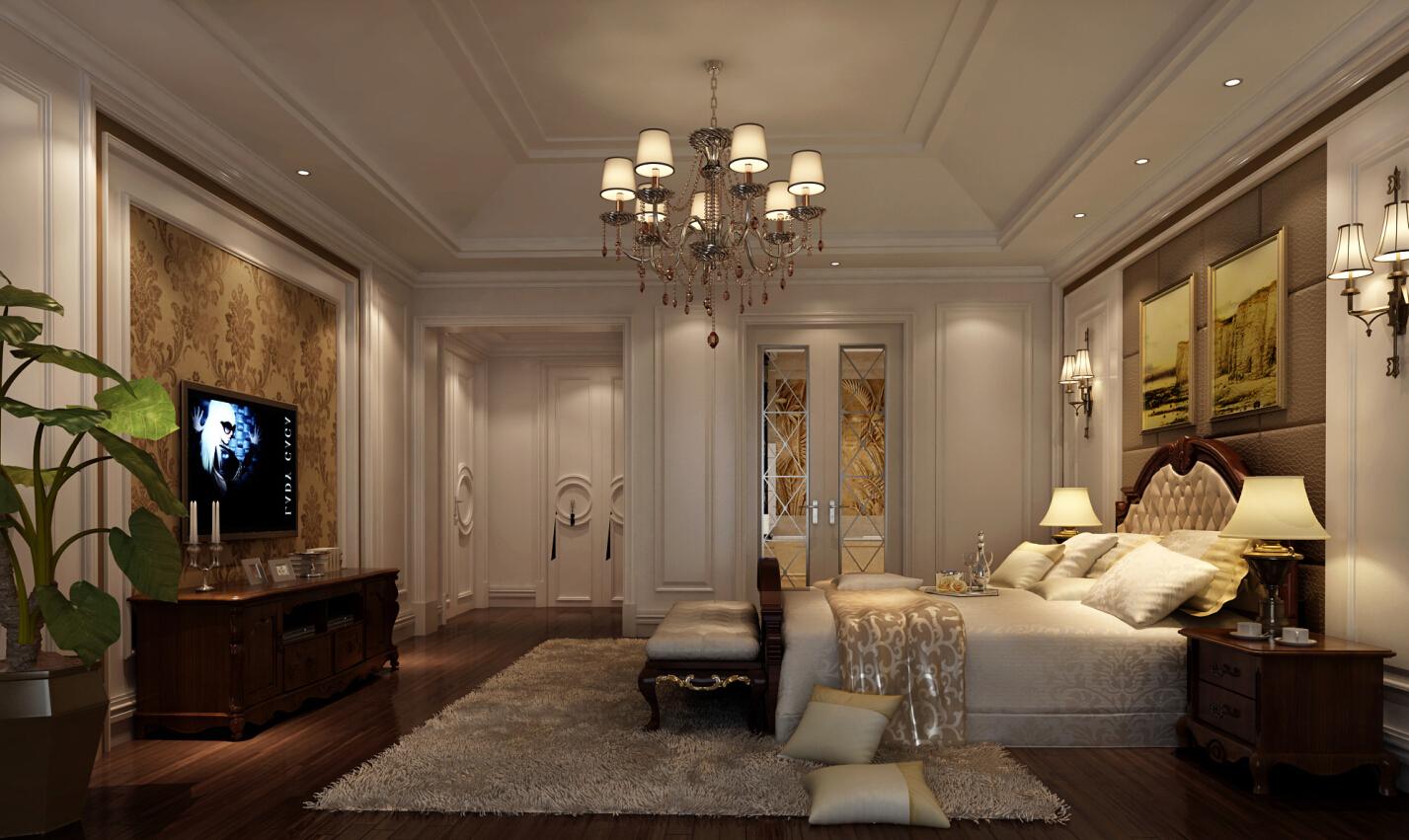 金臣别墅 新古典风格 腾龙设计 卧室图片来自腾龙设计在金臣别墅项目装修法式风格设计的分享