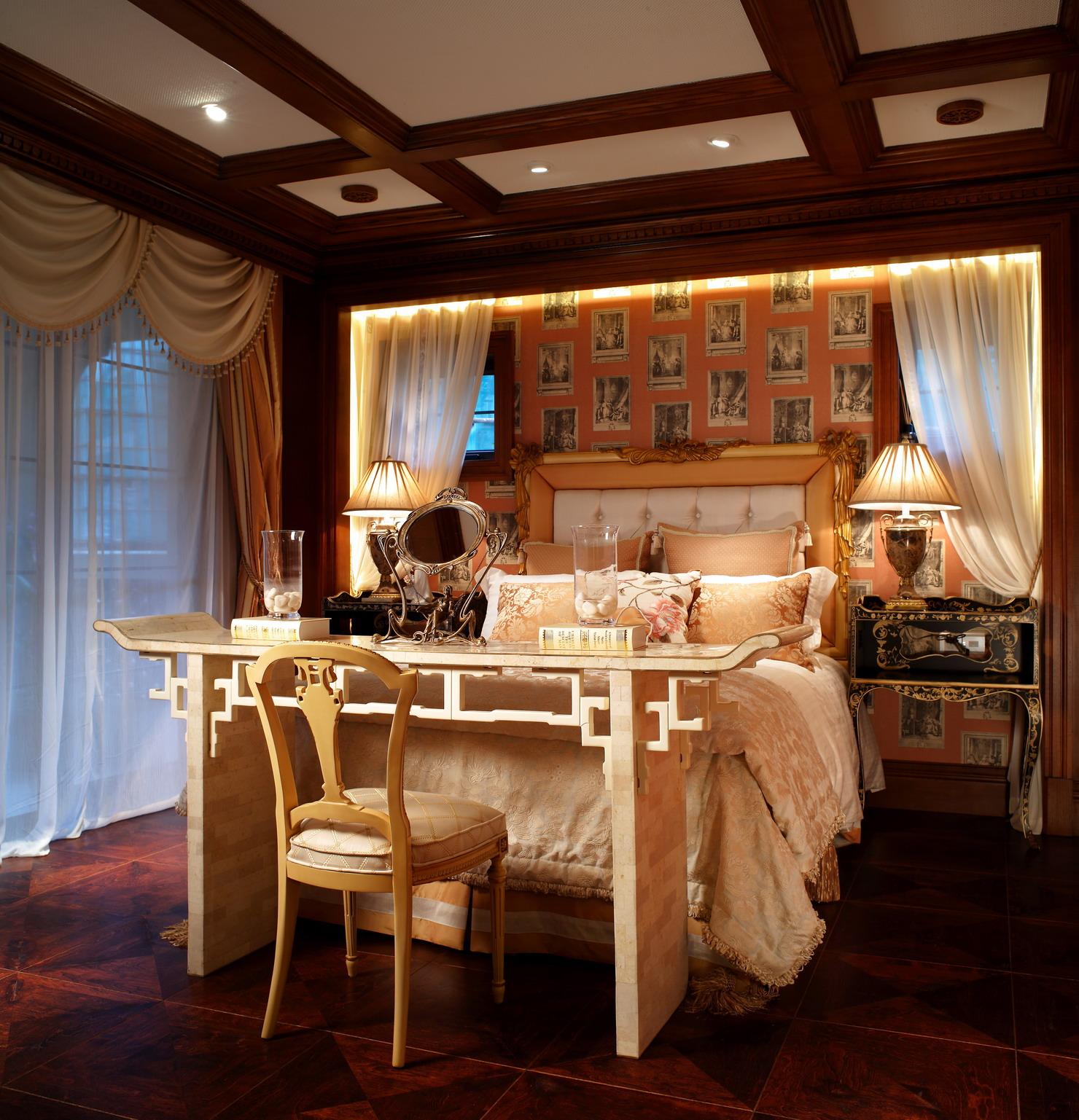 东郊紫园 别墅装修 美式古典 腾龙设计 卧室图片来自腾龙设计在东郊紫园别墅装修美式古典风格的分享