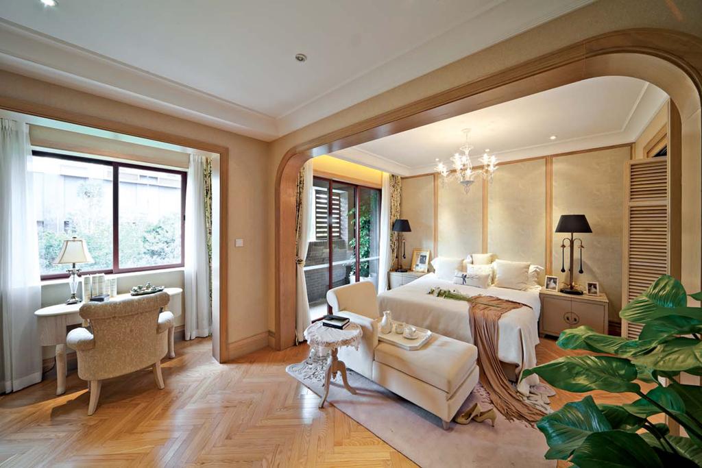 东郊半岛 别墅装修 欧式古典 腾龙设计 客厅图片来自腾龙设计在东郊半岛别墅装修欧式古典风格的分享