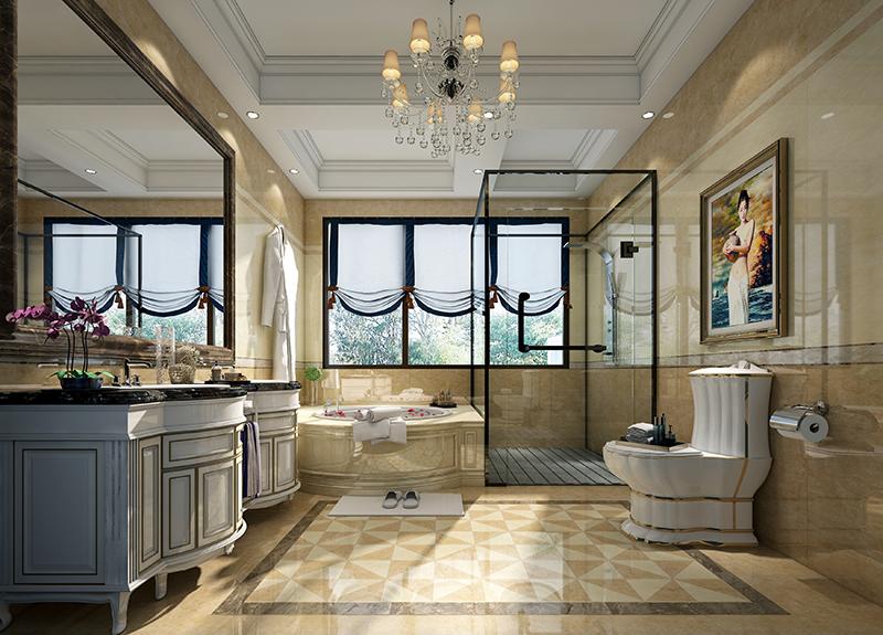 东源丽晶 别墅装修 现代风格 腾龙设计 卫生间图片来自腾龙设计在东源丽晶520平别墅现代风格设计的分享