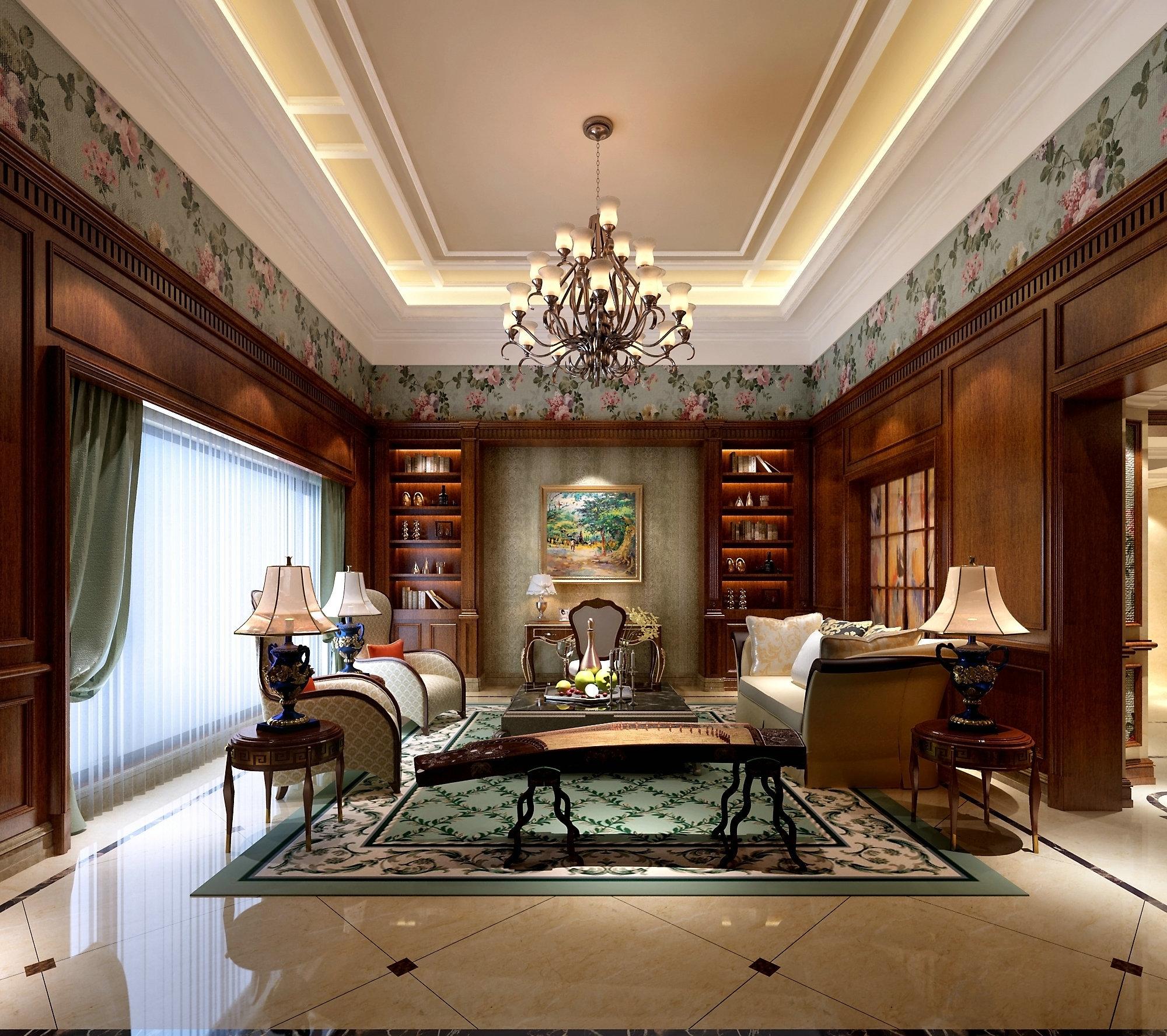 观庭别墅 现代风格 腾龙设计 客厅图片来自腾龙设计在观庭500平别墅项目装修现代风格的分享
