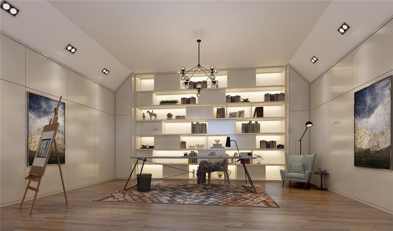 金大元 别墅装修 欧式古典 腾龙设计 书房图片来自腾龙设计在金大元700平别墅装修欧美风格的分享