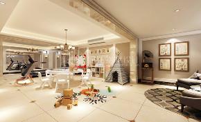 路劲翡丽湾 别墅装修 新古典 腾龙设计 其他图片来自腾龙设计在路劲翡丽湾350平别墅新古典设计的分享