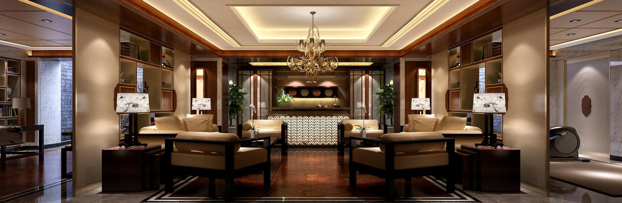 国宾一号 别墅装修 欧美风格 腾龙设计 书房图片来自腾龙设计在国宾一号别墅装修欧美风格设计的分享