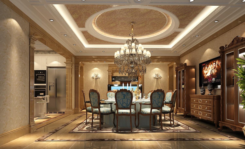 餐厅图片来自北京高度国际在格拉斯小镇奢华欧式风格的分享