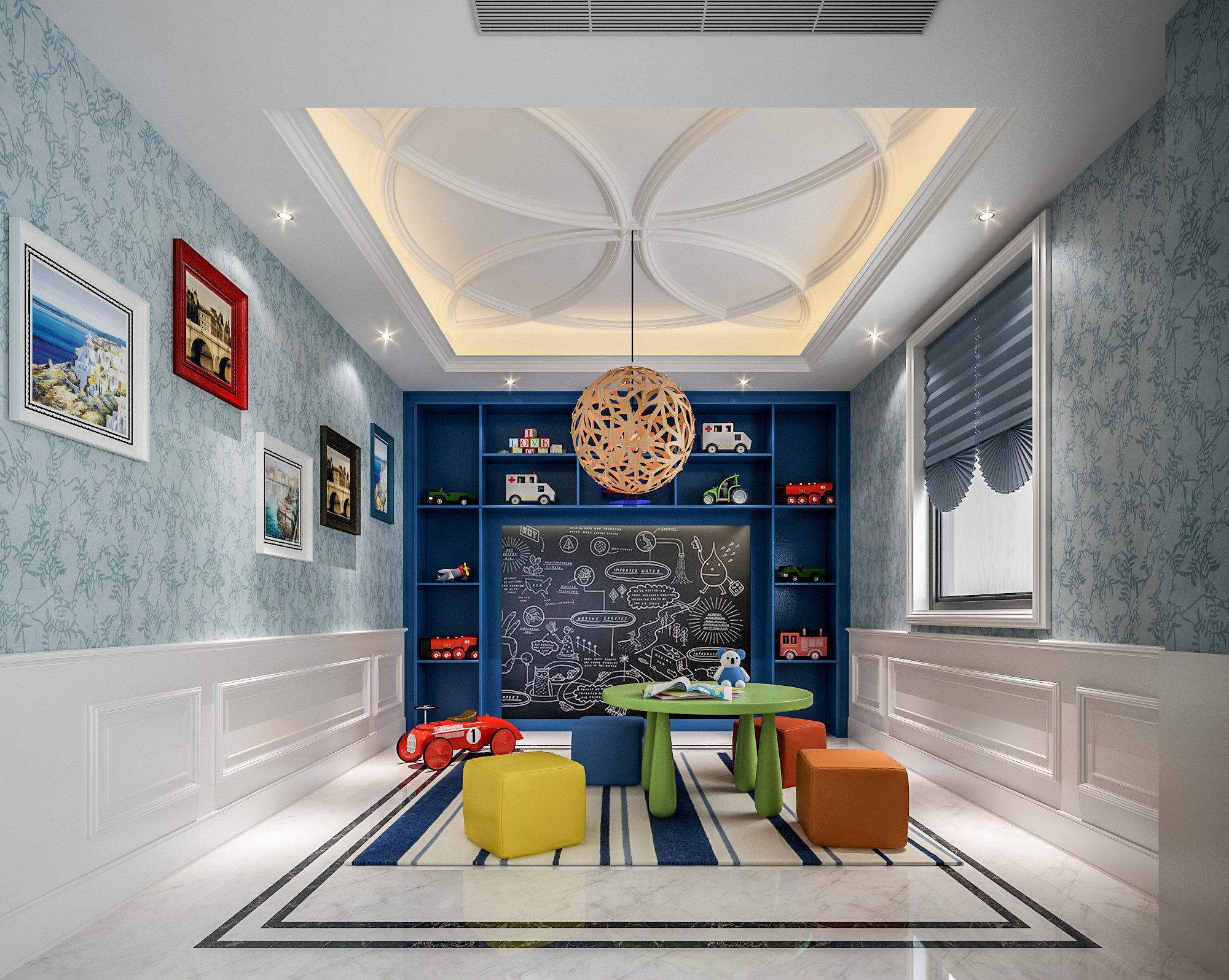 宝华源墅 别墅装修 欧式古典 腾龙设计 其他图片来自腾龙设计在宝华源墅别墅项目装修欧式风格的分享