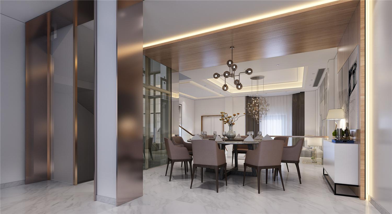 金大元 别墅装修 欧式古典 腾龙设计 餐厅图片来自腾龙设计在金大元700平别墅装修欧美风格的分享