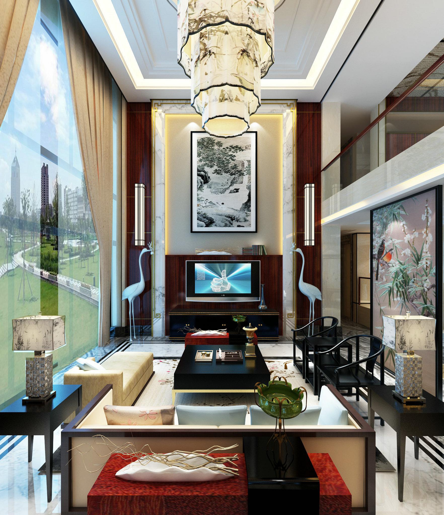 国宾一号 别墅装修 欧美风格 腾龙设计 客厅图片来自腾龙设计在国宾一号别墅装修欧美风格设计的分享