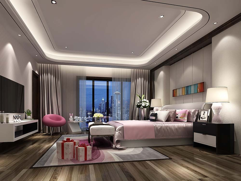 曹江公寓 装修设计 中式风格 腾龙设计 卧室图片来自腾龙设计在曹江公寓复式装修新中式设计!的分享