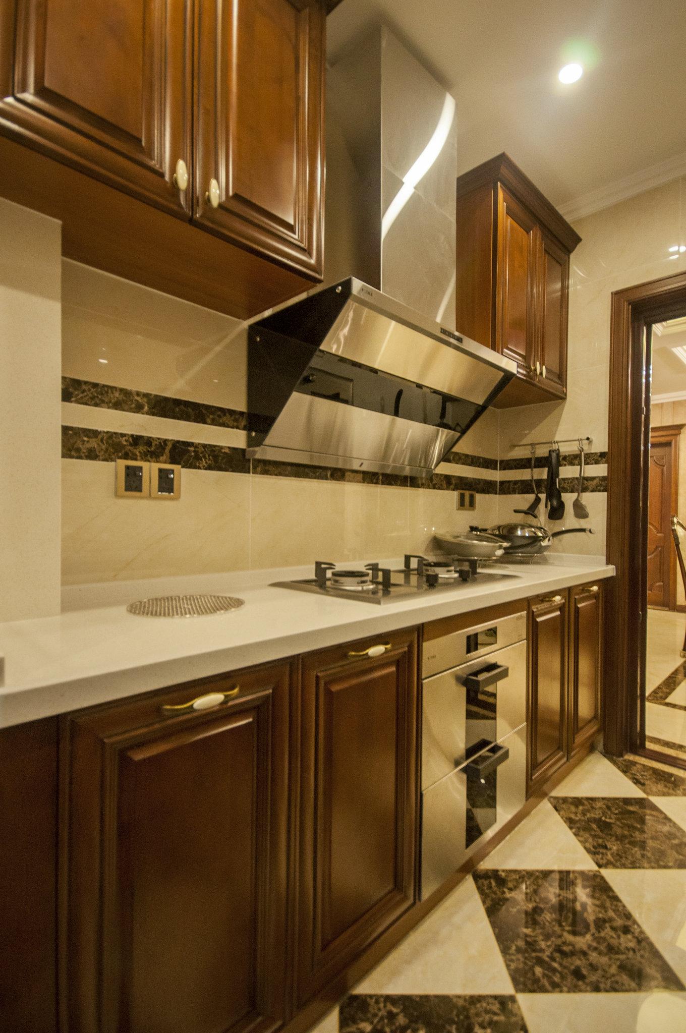 东方御花园 别墅装修 中式风格 腾龙设计 厨房图片来自腾龙设计在东方御花园别墅装修完工实景的分享