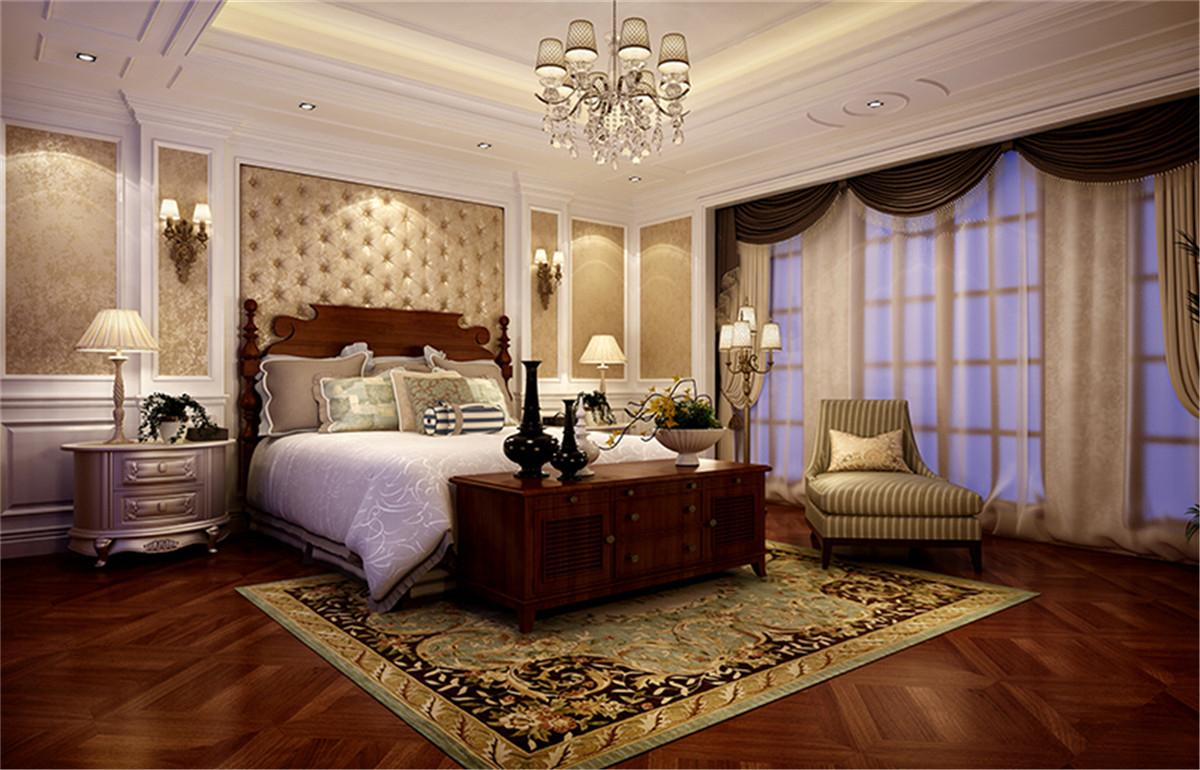 中星红庐 别墅装修 美式古典 腾龙设计 卧室图片来自孔继民在中星红庐别墅项目美式风格设计的分享