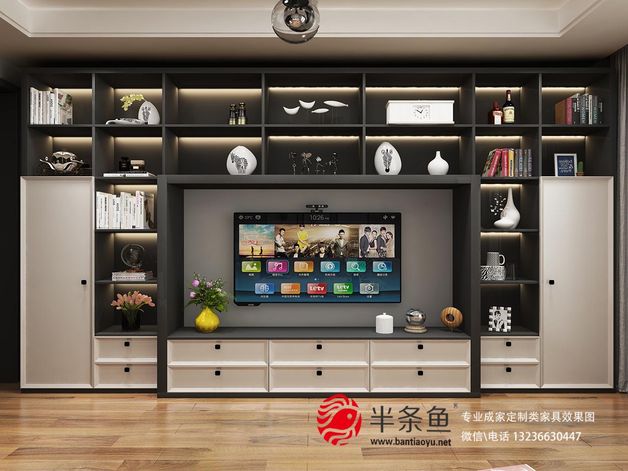 厨房 卧室 客厅 欧式 简约图片来自半条鱼的小鱼儿在半条鱼设计公司七月份赏析的分享
