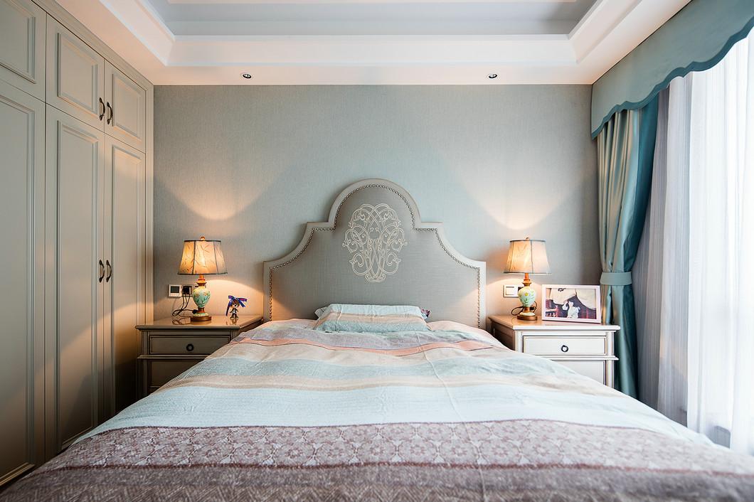 三居 白领 收纳 小资 卧室图片来自温江装修公司在140㎡美式温馨家居生活的分享