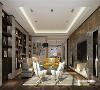 通过格局的改动,满足了业主对空间的功能需求,同时体现出设计画面的质感。