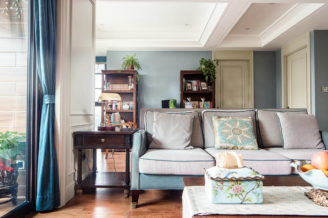 三居 白领 收纳 小资 客厅图片来自温江装修公司在140㎡美式温馨家居生活的分享