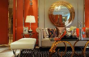 新古典 欧式 复式 跃层 大户型 别墅 80后 小资 客厅图片来自高度国际姚吉智在171平米古典风里的档次雅致的分享