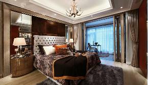 新古典 欧式 复式 跃层 大户型 别墅 80后 小资 卧室图片来自高度国际姚吉智在171平米古典风里的档次雅致的分享