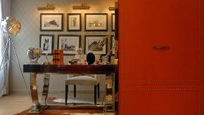 新古典 欧式 复式 跃层 大户型 别墅 80后 小资 书房图片来自高度国际姚吉智在171平米古典风里的档次雅致的分享