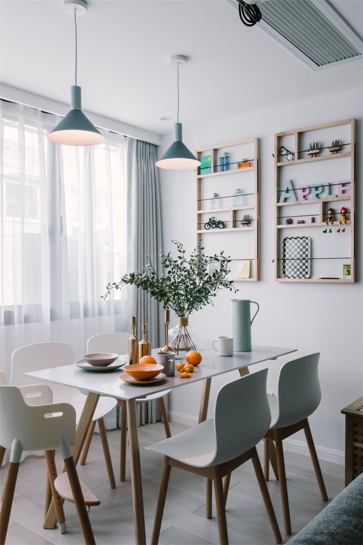 欧式 三居 白领 小资 餐厅图片来自温江装修公司在120㎡北欧别致家居生活的分享