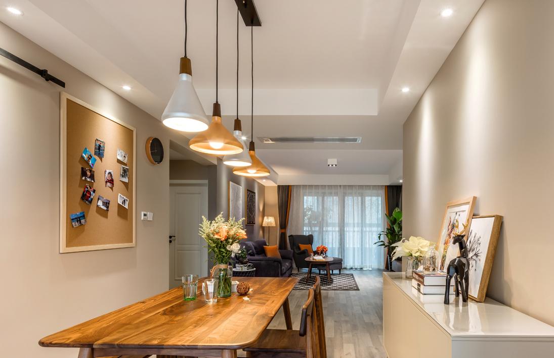 三居 餐厅图片来自言白设计在拿铁不加糖的分享