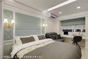 小资 80后 旧房改造 收纳 白领 新古典 卧室图片来自幸福空间在40平,打造高CP值新婚古典宅的分享