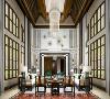 虹桥高尔夫独栋别墅项目装修新中式风格设计参考方案